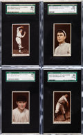 Baseball Cards:Lots, 1912 T207 Recruit SGC 80 EX/NM 6 Collection (4). ... (Total: 5items)