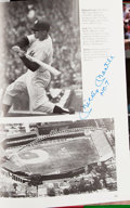 Autographs:Others, 100 Greatest Hitters Multi-Signed Book (36 Signatures) withMantle, Mays, & Williams....