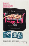 """Movie Posters:Drama, Baby Doll (Warner Brothers, 1957). One Sheet (27"""" X 41""""). Drama.. ..."""