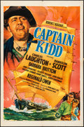 """Movie Posters:Action, Captain Kidd (United Artists, 1945) Folded, Very Fine-. One Sheet (27"""" X 41""""). Action...."""