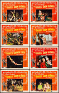 """Movie Posters:Drama, The Greatest Show on Earth (Paramount, 1952). Lobby Card Set of 8(11"""" X 14""""). Drama.. ... (Total: 8 Items)"""