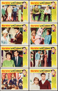 "Movie Posters:Rock and Roll, Love and Kisses (Universal, 1965). Lobby Card Set of 8 (11"" X 14""). Rock and Roll.. ... (Total: 8 Items)"