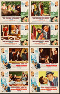 """Movie Posters:Hitchcock, The Man Who Knew Too Much & Other Lot (Paramount, R-1963). Lobby Cards (8) (11"""" X 14""""). Hitchcock.. ... (Total: 16 Items)"""