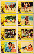 "Movie Posters:Rock and Roll, Surf Party (20th Century Fox, 1964). Lobby Card Set of 8 (11"" X 14""). Rock and Roll.. ... (Total: 8 Items)"