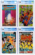 Modern Age (1980-Present):Miscellaneous, Comic Books Assorted - Assorted Bronze and Modern Age Comics CGC-Graded Group of 5 (Various Publishers, 1975-2002).... (Total: 5 Comic Books)