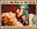 """Movie Posters:Drama, The Sign of the Cross (Paramount, 1932). Lobby Card (11"""" X 14"""").Drama.. ..."""