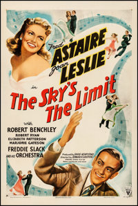 """The Sky's the Limit (RKO, 1943). One Sheet (27"""" X 41""""). Musical"""