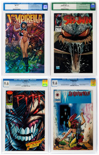 Comics - Assorted Modern Age Comics Group of 9 (Various Publishers, 92-01) ... (Total: 9 )
