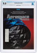 Explorers:Space Exploration, Neil Armstrong: Aerospace in America Magazine Dated January, 1990 Sent to Armstrong's Ohio Home Address, Directly ...