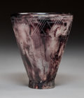 Glass, François-Emile Decorchemont Art Deco Pate-de-Cristal Glass Vase. Circa 1925. Engraved F. DECORCHEMONT, A679. Ht. 6-1/2 i...