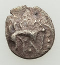 Ancients:Celtic, Ancients: BRITAIN. Iceni. Stickman Boar Type. AR half unit (11mm,0.39 gm). About VF....
