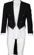 Music Memorabilia:Costumes, Elton John Owned and Worn Versace Jacket and Lanvin Shirt....