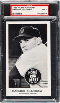 Baseball Cards:Singles (1950-1959), 1959 Home Run Derby Harmon Killebrew PSA NM 7 - Pop Two, NoneHigher. ...