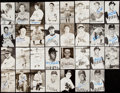 Autographs:Post Cards, Pittsburgh Pirates & Philadelphia Phillies Signed Postcard Lot of 31.. ...
