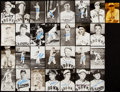 Autographs:Post Cards, St. Louis Browns Signed Postcard Lot of 29.. ...