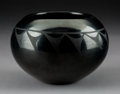 American Indian Art:Pottery, A San Ildefonso Blackware Jar . Maria and Santana Martinez...