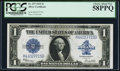 Large Size:Silver Certificates, Fr. 237 $1 1923 Silver Certificate PCGS Choice About New 58PPQ.....