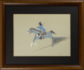 American Indian Art:Photographs, Two Watercolors. c. 1940 and 1978... (Total: 2 Items)