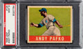 Baseball Cards:Singles (1940-1949), 1948 Leaf Andy Pafko #125 PSA Mint 9 - Pop Two, None Higher! ...