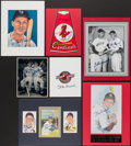 Autographs:Others, Stan Musial Signed Display Lot of 7.... (Total: 7 items)