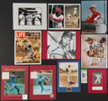 Autographs:Others, Baseball Hall of Famers Signed Ticket/Display Lot of 11.... (Total:11 items)