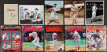 Autographs:Others, St. Louis Cardinals Signed Photographs and Magazines Lot of 10....(Total: 10 items)