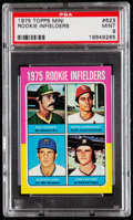 Baseball Cards:Singles (1970-Now), 1975 Keith Hernandez - Topps Rookie Infielders #623 PSA Mint 9....
