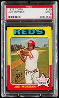 Baseball Cards:Singles (1970-Now), 1975 Topps Joe Morgan #180 PSA Mint 9....