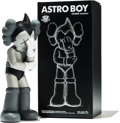 Fine Art - Sculpture, American:Contemporary (1950 to present), KAWS (b. 1974). Astro Boy (Grey), 2012. Painted cast vinyl.14-3/4 x 6 x 4-1/2 inches (37.5 x 15.2 x 11.4 cm) (toy). 16-...