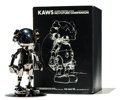 Fine Art - Sculpture, American:Contemporary (1950 to present), KAWS X Hajime Sorayama. No Future Companion (Black Chrome),2008. Metallized plastic. 12-1/2 x 7-3/4 inches (31.8 x 19.7...