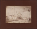 Political:Small Paper (1896-present), Roosevelt & Fairbanks: Large-Format Photograph of Jugate Street Banner....
