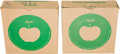 "Music Memorabilia:Memorabilia, Beatles - Two Apple Records 7"" Shipping Boxes...."