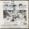 Music Memorabilia:Autographs and Signed Items, The Who Signed Happy Jack Stereo LP (Decca DL 74892, 1967)....