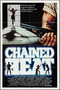 """Chained Heat & Others Lot (Intercontinental Releasing, 1983). Overall Grade: Very Fine-. One Sheets (6) (27""""..."""