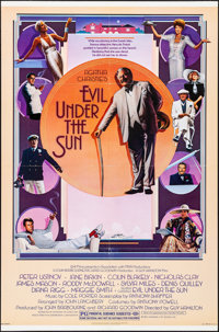 """Evil Under the Sun & Other Lot (Universal, 1982). One Sheets (2) (27"""" X 41""""). Mystery. ... (Total: 2 I..."""