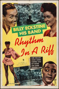 "Movie Posters:Black Films, Rhythm in a Riff (Astor Pictures, 1947). One Sheet (27"" X 41"").Black Films.. ..."
