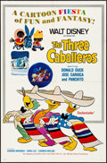"Movie Posters:Animation, The Three Caballeros (Buena Vista, R-1977). One Sheet (27"" X 41""). Animation.. ..."
