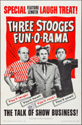 "Movie Posters:Comedy, Three Stooges Fun-O-Rama (Columbia, 1959). One Sheet (27"" X 41"").Comedy.. ..."