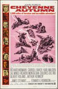 """Movie Posters:Western, Cheyenne Autumn & Other Lot (Warner Brothers, 1964). One Sheets (2) (27"""" X 41""""). Western.. ... (Total: 2 Items)"""