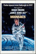 "Movie Posters:James Bond, Moonraker (United Artists, 1979). Folded, Very Fine+. International One Sheet (27"" X 41""). Dan Goozee Artwork. James Bond.. ..."
