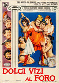 """Movie Posters:Comedy, A Funny Thing Happened on the Way to the Forum (United Artists,1967). Italian 2 - Fogli (39"""" X 55""""). Comedy.. ..."""