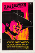 "Movie Posters:Crime, Coogan's Bluff (Universal, 1968). Folded, Very Fine-. One Sheet(27"" X 41""). Crime.. ..."