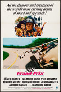 "Movie Posters:Sports, Grand Prix (MGM, 1967). One Sheet (27"" X 41"") Howard Terpning Artwork. Sports.. ..."
