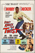 """Movie Posters:Rock and Roll, Don't Knock the Twist (Columbia, 1962). Folded, Very Fine-. OneSheet (27"""" X 41""""). Rock and Roll.. ..."""