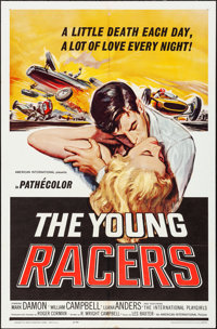 """The Young Racers (American International, 1963). One Sheet (27"""" X 41""""). Action"""