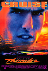 """Days of Thunder & Other Lot (Paramount, 1990). One Sheets (3) (27"""" X 40""""). Sports. ... (Total: 3 Items..."""