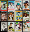 Baseball Cards:Lots, 1966-79 Topps Baseball Collection Stars & HoFers (400+)....