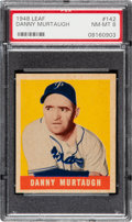 Baseball Cards:Singles (1940-1949), 1948 Leaf Danny Murtaugh #142 PSA NM-MT 8 - Pop Four, None Higher! ...