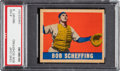 Baseball Cards:Singles (1940-1949), 1948 Leaf Bob Scheffing #160 PSA NM-MT 8 - Pop Two, None Higher! ...