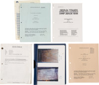 Star Trek: Lot of Script and Production-Related Notes For Star Trek Deep Space Nine and